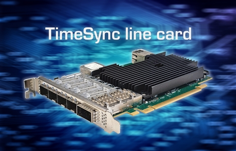 Silicom Ltd. Has introduced the new TimeSync Server Adapter STS2