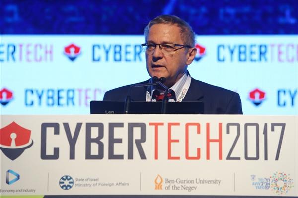Dr. Kfir Luzzatto at Cybertech 2017