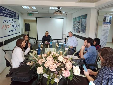 """מפגש עם מנכ""""ל הקרן לעידוד ופיתוח ענף הבניה"""