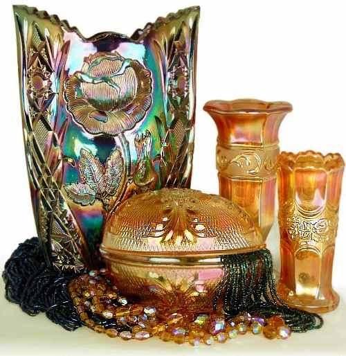 European Carnival Glass