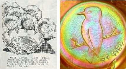 Kingfisher, Crown Crystal